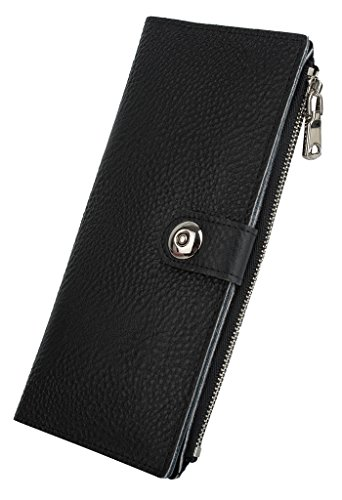 YALUXE Genuine Leather Smartphone Magnetic