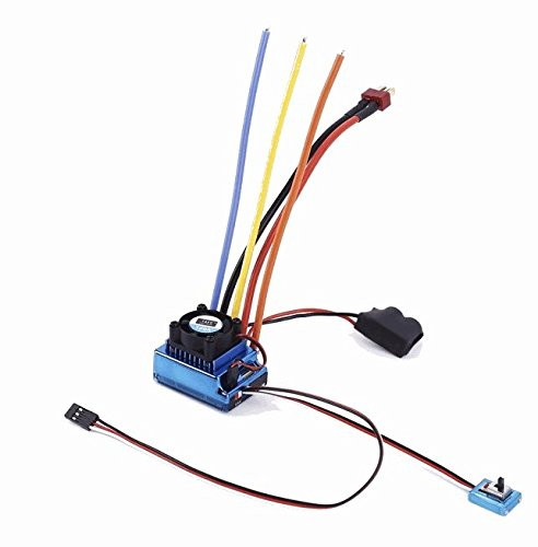 SUNFLYING 120A Sensored Brushless Speed Controller ESC for 1/8 1/10 1/12 RC Car