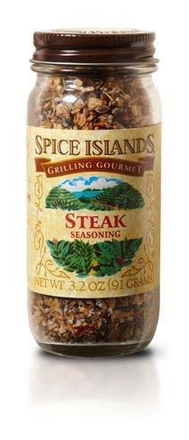 Spice Island Steak Seasoning, 3.2 oz (Pack of 3)