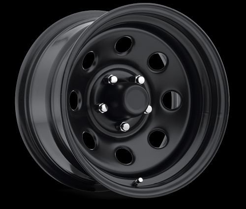 P74 97 SERIES BLK STEEL 8 HOLE|15 X 8 by Pro Comp Alloys