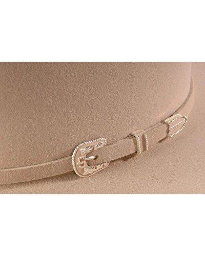 883383049657 - Stetson Men's Skyline Hat, Silver Belly, 7 1/8 carousel main 1