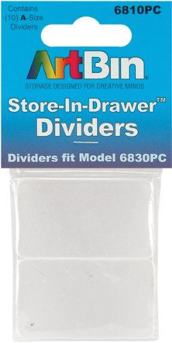 ArtBin Store In Drawer Divider Packs-10 Pack by ArtBin