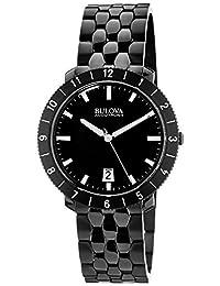 Bulova Men's 98B218 Black Bracelet Watch