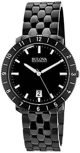 Bulova Unisex Unisex Accutron II - 98B218 Black Watch - Accutron Mens Watch