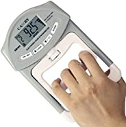 CAMRY Digital Hand Dynamometer Grip Strength Measurement Meter Auto Capturing Electronic Hand Grip Power 198 L
