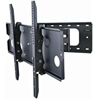 Monoprice Adjustable Tilting/Swiveling Wall Mount Bracket for LCD LED Plasma - Max 125Lbs, 32~60inch