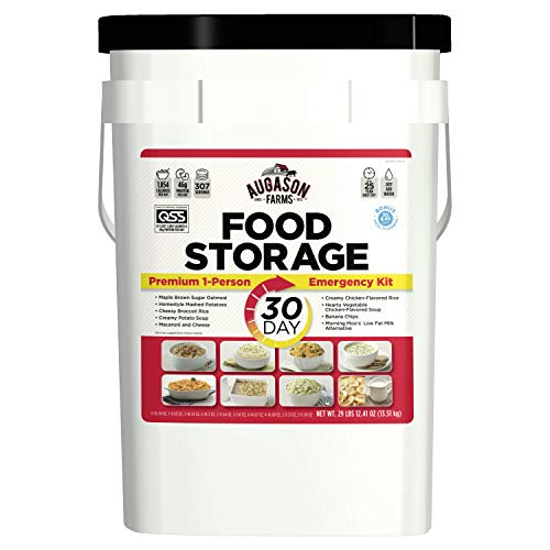 Augason Farms 30-Day 1-Person Emergency Food Supply - QSS Certified