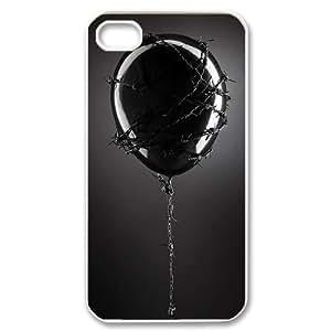 Balloon CUSTOM Cover Case for iPhone 4,4S LMc-81460 at LaiMc hjbrhga1544