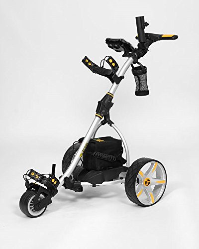 Bat-Caddy X3R Remote Control Cart w/ Free Accessory Kit, Silver, 35Ah SLA