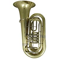Roy Benson MOD.TB-202 BB 4 Ventile Tuba with Light Weight Case with Weels