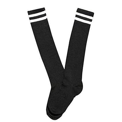Mytobang calcetines calcetines de los deportes del fútbol de la raya de los cabritos de los