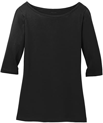 Joe's USA Ladies Perfect Weight 3/4-Sleeve Tees Sizes XS-4XL