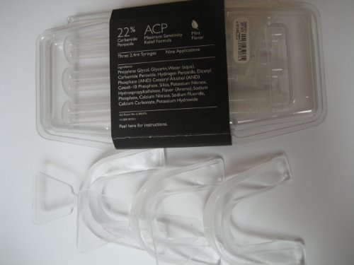 NiteWhite Zoom 22% Mint Three Syringes 2.4 ml with Three Theromform Trays ()