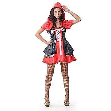 Halloween - para Mujer - Disfraces de Cuento de Hadas - Disfraces - Vestido/Chal - , M: Amazon.es: Deportes y aire libre