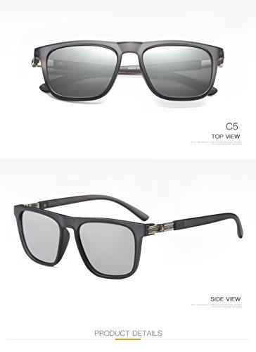 Mujer C3 Polarizadas Aviator Protección para UV Sol 400 para Gafas De Hombre C1 7EtwqXS