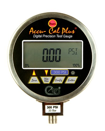 3D Instruments 75514 Series Accu-Cal Plus Stainless Steel...