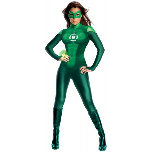Rubie's Costume Co Secret Wishes Womens Green Lantern Uniform, Green, Medium -