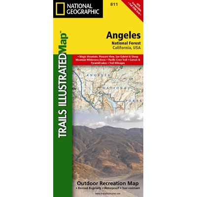 Trails Illustrated Map Angeles National Forest