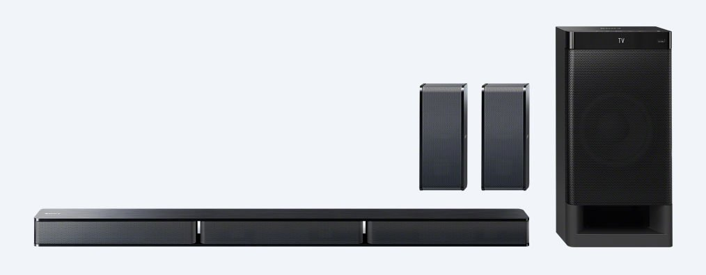 Sony 5.1-ch Home Theater System with Subwoofer and Bluetooth - HTRT3 (Certified Refurbished)