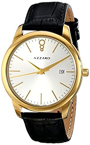 Azzaro Men's AZ2040.62SB.000 Legend Analog Display Swiss Quartz Black Watch (Azzaro Men Quartz)