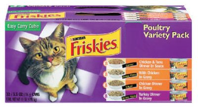 Friskies Prime Filets Seafood Cat Food