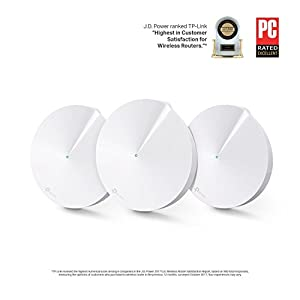 TP-Link Deco Whole Home Mesh WiFi System – Up to 5,500 Sq. Ft. Coverage, WiFi Router/WiFi Extender Replacement, AC1300…