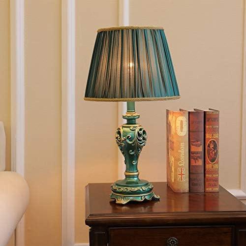 Elegante Luz Pastoral Europea Lámpara De Mesa De Estudio Americana ...