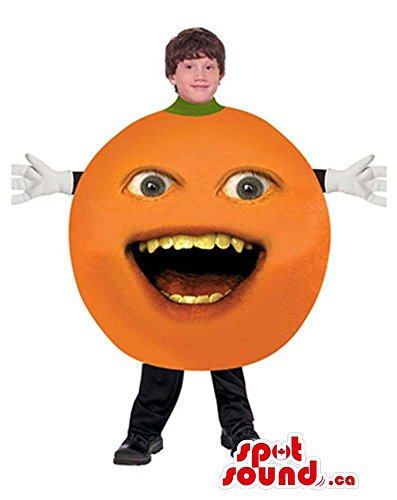 Annoying Orange Viral Internet Character Children Size Costume by SpotSound