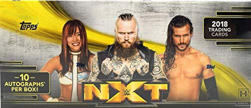 Hobby Box Wrestling (2018 Topps WWE NXT Wrestling HOBBY box (10 pk, TEN Autograph cards))