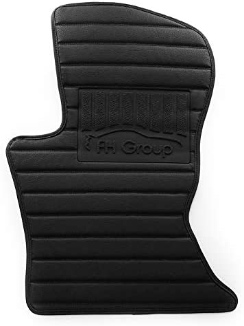 Custom-fit Heavy-Duty Faux Leather Car Floor Mats Liners Anti-Slip Backing for 2017-2019 Land Rover Velar