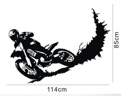 Amazon Com Colorfulhall 23 6 X 39 4 Black Color Motorcycle Racer