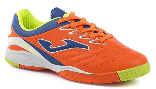 DEPORTIVO JOMA FUTBOL SALA TOLEDO JR 608 ORANGE FLUOR INDOOR ORANGE FLUOR