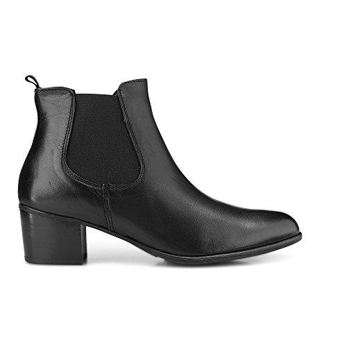 Tamaris 1-1-25098-29 Damen Stiefel, Stiefelette, Boot, Winterstiefel, Herbstschuh für die modebewusste Frau, funktionaler Reißverschluss Black