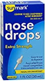 Sunmark Nose Drops Extra Strength - 1 oz, Pack of 6