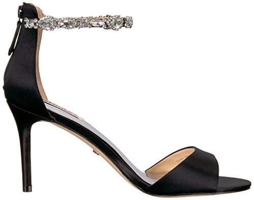 Badgley Mischka Donne Sindy Nero Sandalo Tacco