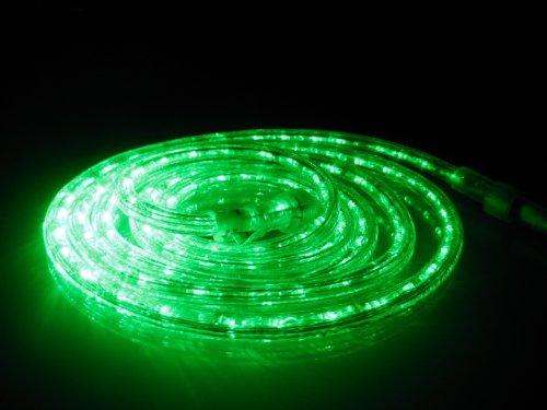 Amazon.com 18Ft Rope Lights; Emerald Green LED Rope Light Kit; 1.0  LED Spacing; Christmas Lighting; outdoor rope lighting Home u0026 Kitchen & Amazon.com: 18Ft Rope Lights; Emerald Green LED Rope Light Kit; 1.0 ...