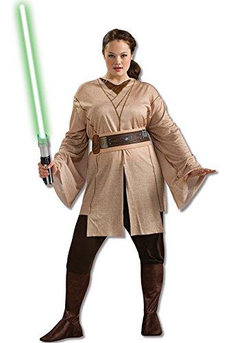 Rubie's Women's Plus-Size Star Wars Adult Jedi Knight, Multicolor, Plus