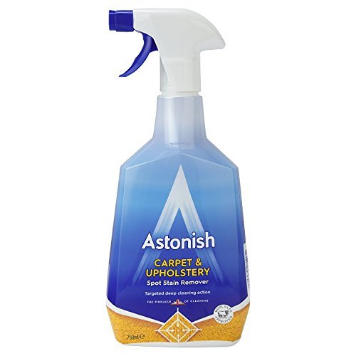 Astonish Shampoo For Carpets & Upholstery 750ml Cleans, Disinfects & Deodorises 88807
