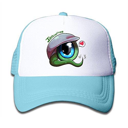 linna-kids-boys-girls-green-eyeball-best-friends-cotton-hats-rowing-snapback-cap-for-outdoor-sports-