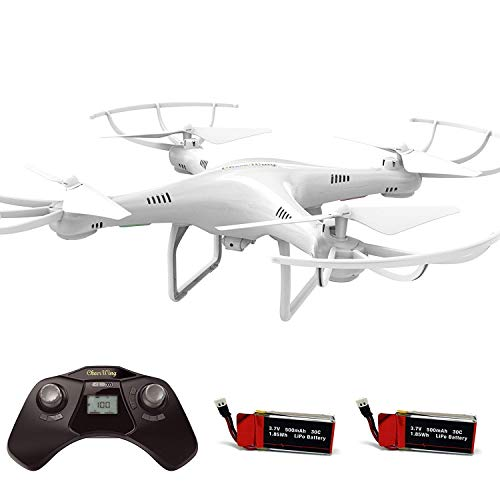 Cheerwing CW4 RC Drone with 720P HD Camera with Altitude Hold Mode and One Key Take Off Landing