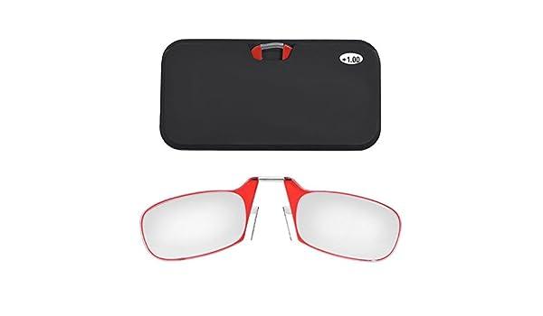 Gafas de Lectura Portátil, clip nariz presb yopie Gafas con ...