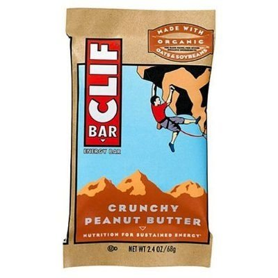 CLIF Bar Crunchy Peanut Butter 2.4oz pack of (12 Pack Clif Shot)