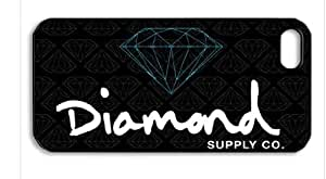Diamond Supply Co HD image case for iphone 6 4.7 black + Badge