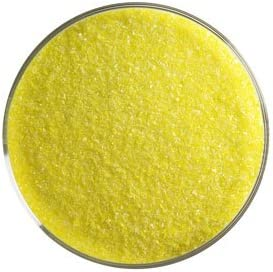5 Oz 90 Coe Canary Yellow Opal Fine Frit
