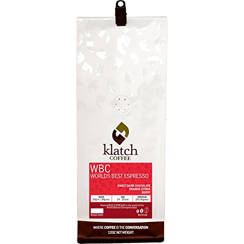 Klatch Coffee, Inc. WBC World's Best Espresso 12oz