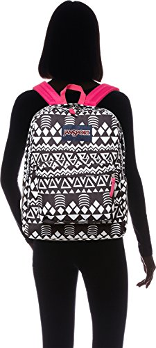 JanSport Unisex SuperBreak Black Geo Graphic One Size by JanSport (Image #6)