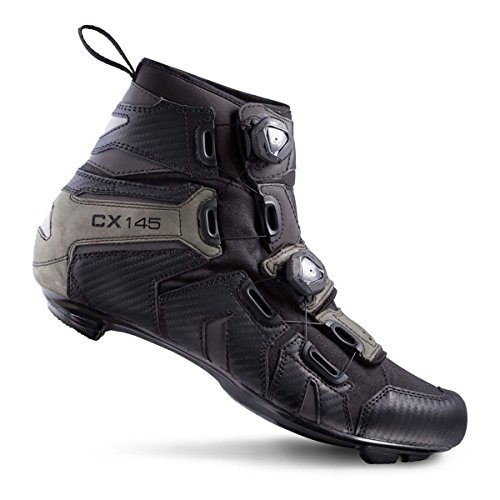 Lake SHOE CX145 ROAD WATER PROOF BOOT BLACK QjdcjeDY