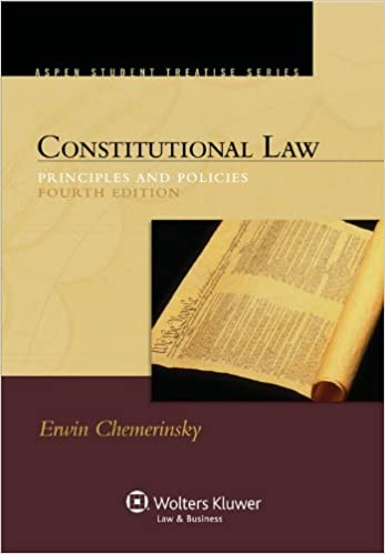 Amazon.com: Constitutional Law: Principles and Policies, 4th ...
