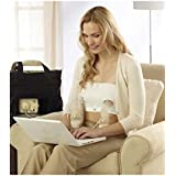 Medela Easy Expression Bustier Hands Free Pumping Bra Size Medium White