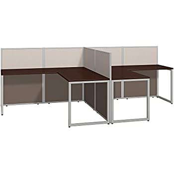 Luxury 2 Person L Shaped Desk